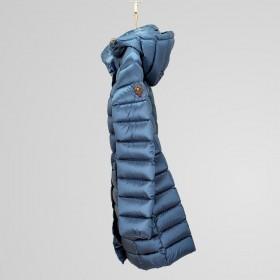 Cape Horn - Piumino Bianca donna inpiumino d'oca 32554 lato blu