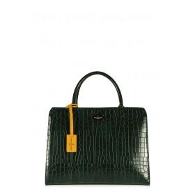Pauls Boutique - Borsa Mabel donna in pelle ecologica nera e verde (Pauls Boutique 126488)