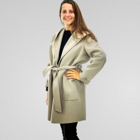 Giulia Valli - Cappotto Cammello donna in lana double