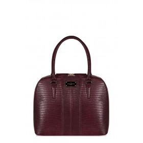 Pauls Boutique - Borsa Aviana donna in pelle ecologica nera e bordoux (Pauls Boutique 126554)