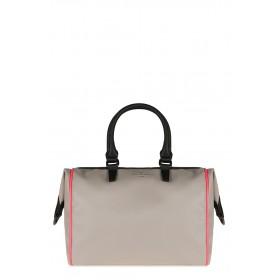 Pauls Boutique - Borsa Porter donna in pelle ecologica nera e bianca (Pauls Boutique 126530)