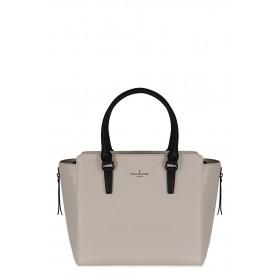 Pauls Boutique - Borsa Pamela donna in pelle ecologica nera e bianca (Pauls Boutique 126528)