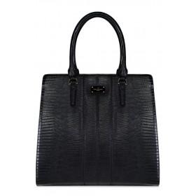 Pauls Boutique - Borsa Faye donna in pelle ecologica nera e bordoux (Pauls Boutique 126553)