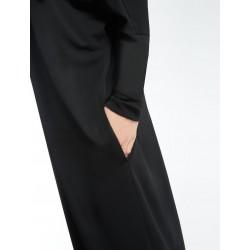 Max Mara - Abito Giove donna in crepe di viscosa color nero (Max Mara 36260176)