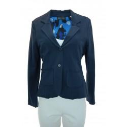 Giulia Valli - Giacca felpa Belar donna in felpa di colore blu o corallo