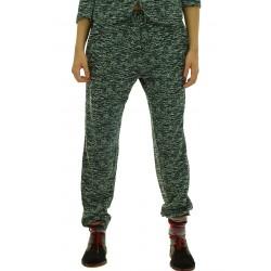 Ottod'Ame - Pantaloni felpa Calliope donna in lana e cotone