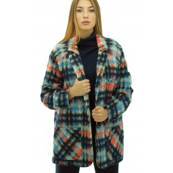Ottod'Ame - Giaccone Bardonecchia donna in lana alpaca e mohair