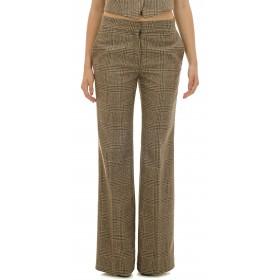 Ottod'Ame - Pantaloni Agata donna in lana e cotone