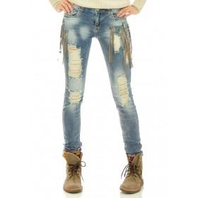 Jeans frange Gina