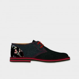 Dandy - Derby Bicolore donna in vera pelle